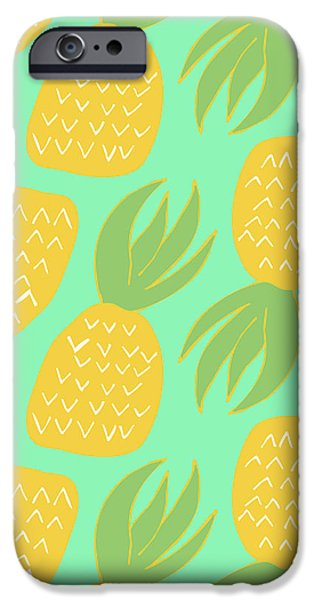 Summer Pineapples IPhone 6s Case by Allyson Johnson
