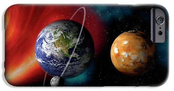 Sun And Planets IPhone 6s Case by Panoramic Images