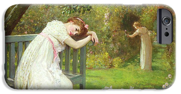 Sunday Afternoon - Ladies In A Garden IPhone Case by English School