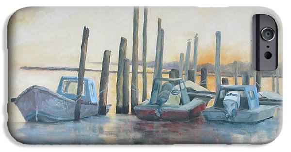 Sundown Stillness IPhone Case by Susan Richardson