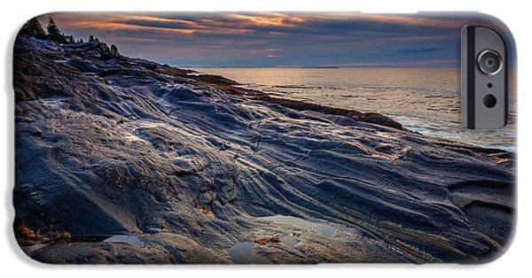 Sunrise At Pemaquid Point IPhone Case by Rick Berk