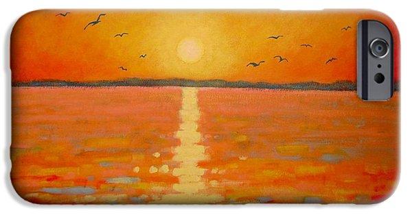 Sunset IPhone Case by John  Nolan