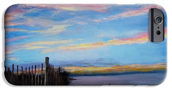 Sunset On Cape Cod Bay IPhone Case by Jack Skinner