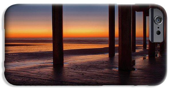 Sunset On La Jolla IPhone Case by J Petrie
