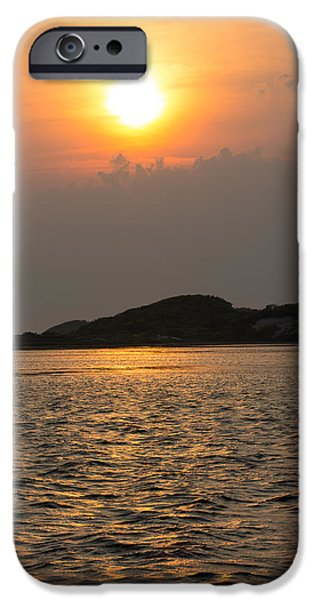Sunset Over Province Lands IPhone Case by Allan Morrison