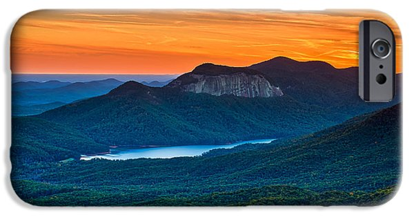 Sunset Over Table Rock From Caesars Head State Park South Carolina IPhone 6s Case by T Lowry Wilson