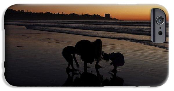 Sunset Seashells IPhone Case by J Petrie