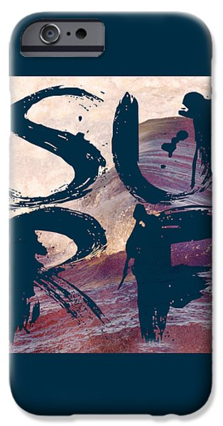 Surf V1 IPhone Case by Brandi Fitzgerald