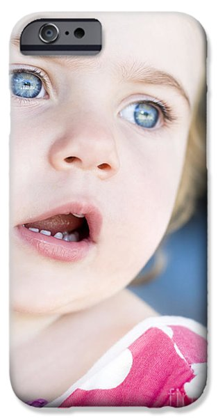 Surprised Child IPhone Case by Jorgo Photography - Wall Art Gallery