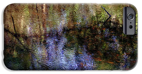 Swamp Abstract IPhone Case by Greg Mimbs