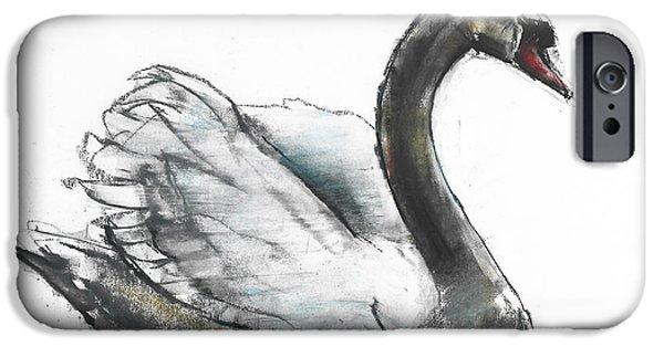 Swan IPhone 6s Case by Mark Adlington
