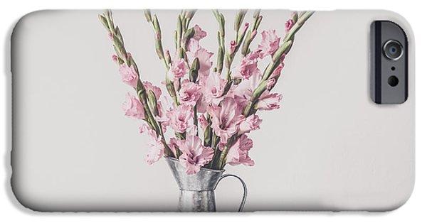 Sweet Gladiolus IPhone Case by Kim Hojnacki