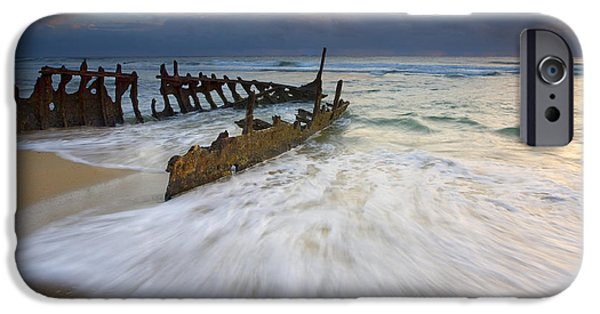 Swept Ashore IPhone Case by Mike  Dawson
