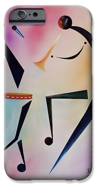 Tambourine Jam IPhone Case by Ikahl Beckford