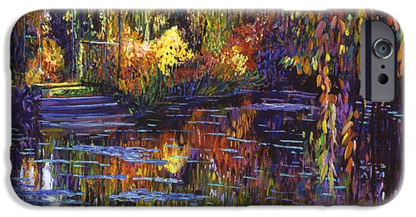 Tapestry Reflections IPhone Case by David Lloyd Glover