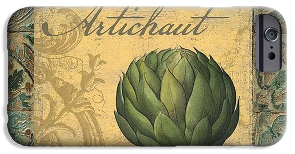 Tavolo, Italian Table, Artichoke IPhone 6s Case by Mindy Sommers