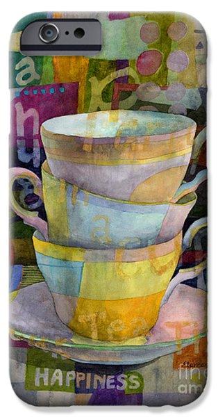 Tea Time IPhone Case by Hailey E Herrera