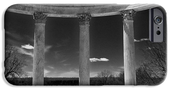 Temple Of The Sky Monochrome IPhone Case by Jessica Jenney
