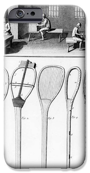 Tennis Rackets IPhone Case by French School