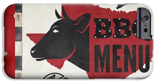 Texas Barbecue 4 IPhone Case by Mindy Sommers