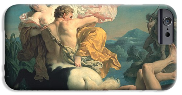 The Abduction Of Deianeira By The Centaur Nessus IPhone 6s Case by Louis Jean Francois Lagrenee