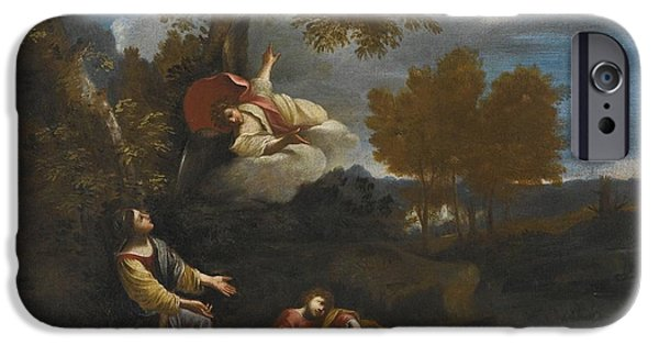 The Angel Appearing To Hagar IPhone Case by Pier Francesco
