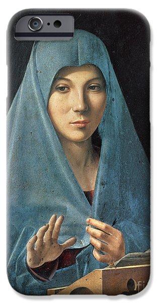 The Annunciation IPhone Case by Antonello da Messina