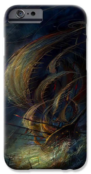 The Apparation IPhone Case by Philip Straub