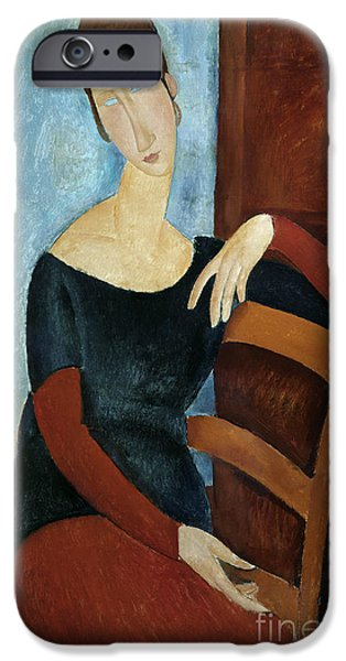 The Artist's Wife IPhone Case by Amedeo Modigliani