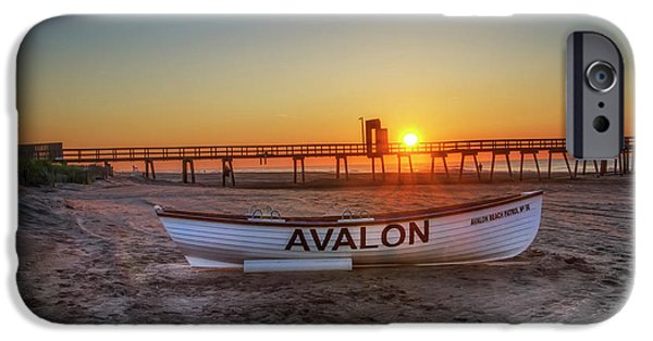 The Beach At Avalon 32nd Street IPhone Case by Bill Cannon