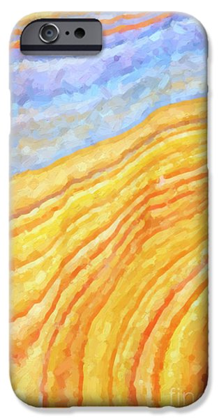 The Beach IPhone Case by Tim Gainey