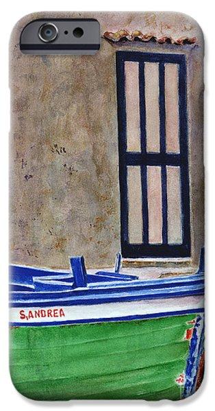 The Boat IPhone Case by Karen Fleschler