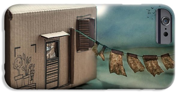 The Box That Was A House IPhone Case by Maggie Terlecki