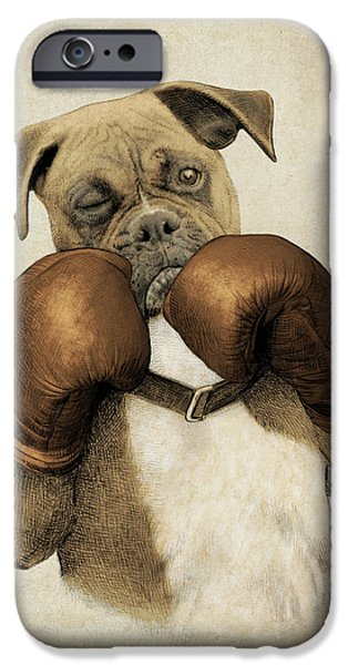 The Boxer IPhone Case by Eric Fan