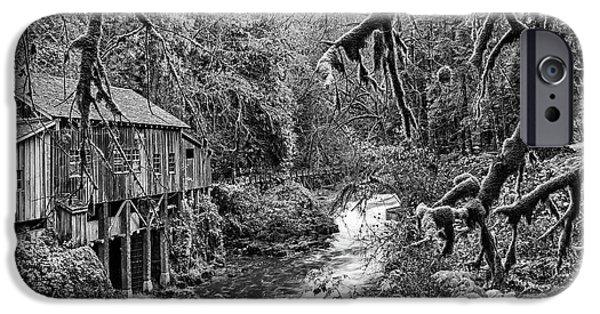 The Cedar Creek Mill Moss IPhone Case by Jamie Pham