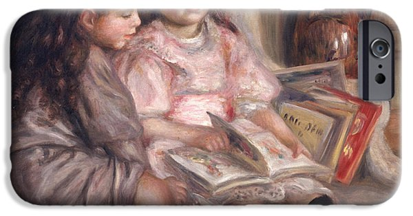 The Children Of Martial Caillebotte IPhone Case by Pierre Auguste Renoir