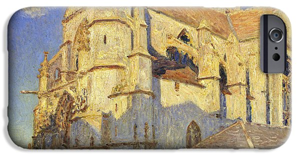 The Church At Moret IPhone Case by Alfred Sisley