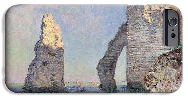 The Cliffs At Etretat IPhone 6s Case by Claude Monet