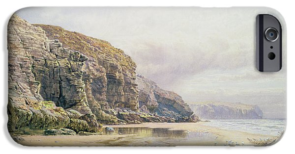 The Coast Of Cornwall  IPhone Case by John Mogford