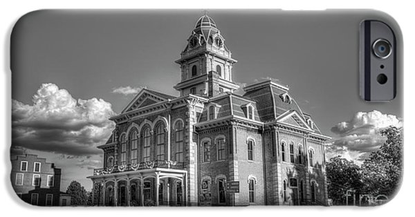 The Comeback Historic Hancock County Courthouse Sparta, Georgia IPhone Case by Reid Callaway