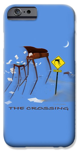 The Crossing Se IPhone Case by Mike McGlothlen