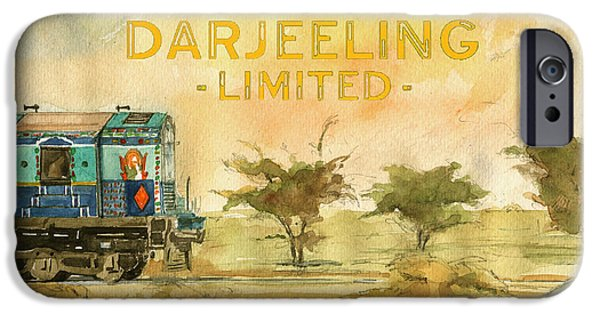 The Darjeeling Limited Poster Film Wes Anderson IPhone Case by Juan  Bosco