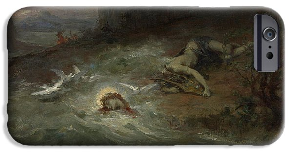 The Death Of Orpheus IPhone Case by Henri Leopold Levy