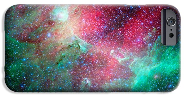 The Eagle Nebula In The Serpens Constellation IPhone Case by American School