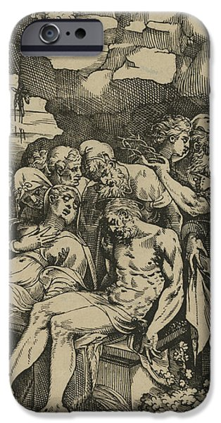 The Entombment Of Christ IPhone 6s Case by Andrea Andreani