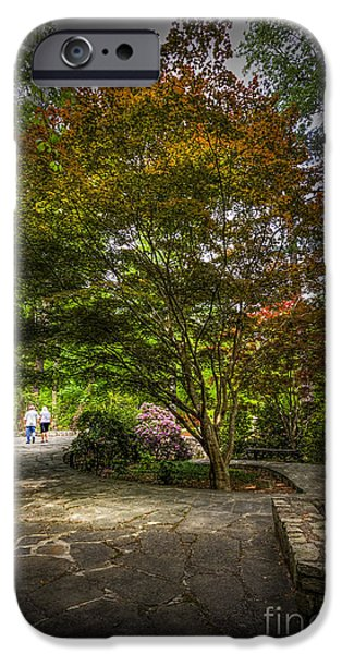 The Evening Walk IPhone Case by Marvin Spates
