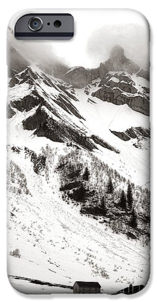 The Ever Overwhelming Mountain IPhone Case by Olivier Le Queinec