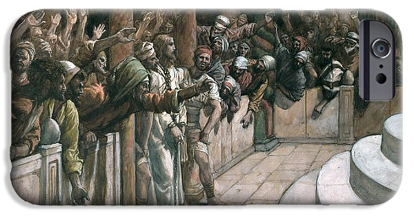 The False Witness IPhone Case by Tissot