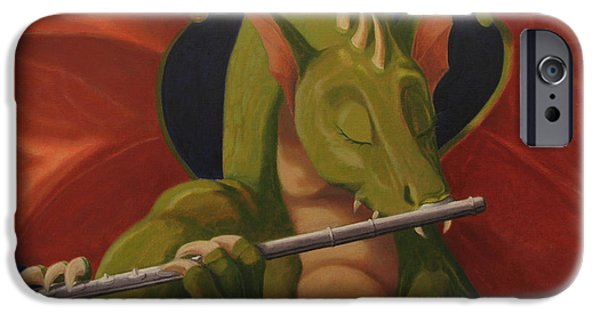 The Flute Player IPhone Case by Leonard Filgate