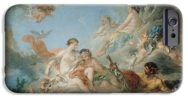 The Forge Of Vulcan IPhone Case by Francois Boucher